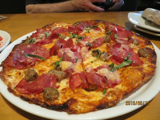 sicilian pizza picture of california pizza kitchen cambridge rh tripadvisor com  california pizza kitchen sicilian pizza review