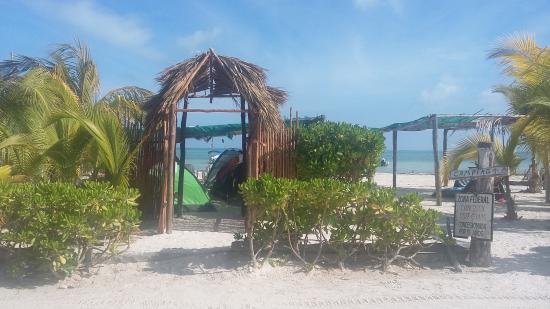 Casa Maya Holbox: área de camping