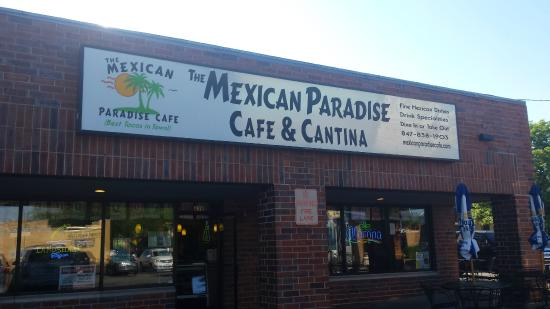 The Mexican Paradise Cafe: Exterior Picture of Mexican Paradise
