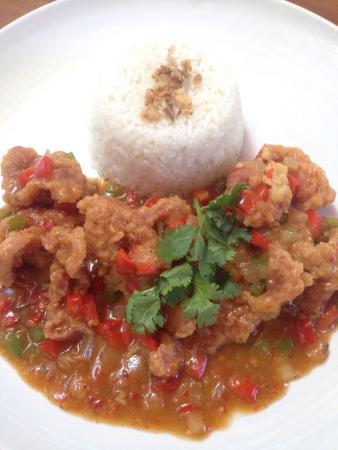 Pork in Szechuan sauce