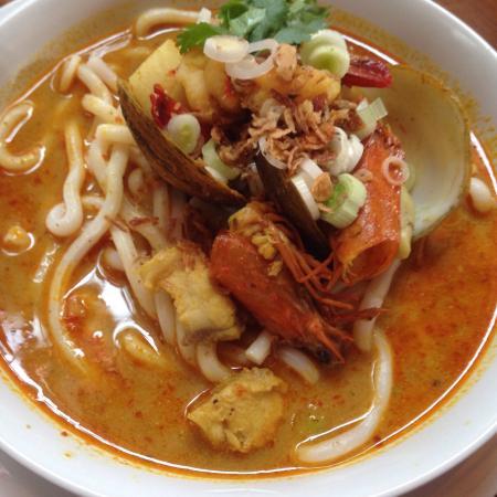 Warung Damar: Seafood Laksa
