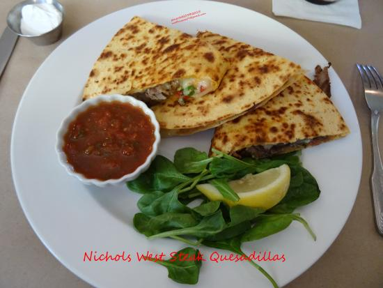 Congress, AZ: Nichols West Steak Quesadilla