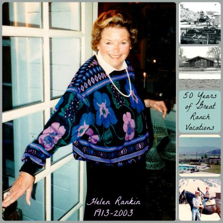 Rankin Ranch : Helen Rankin opened her doors to guests 50 years ago!