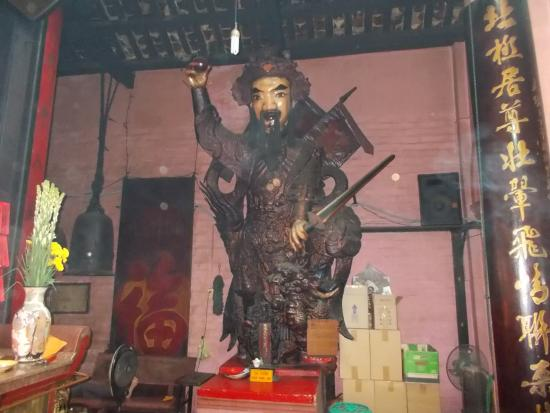 Emperor Jade Pagoda: Presumably the statue of Jade Emperor who the temple was named after