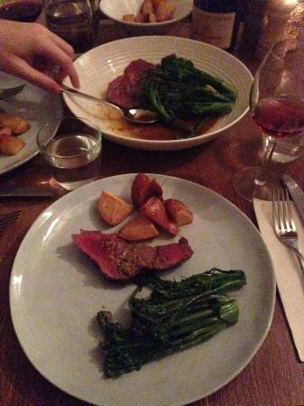 La Grande Bouffe: so yummy  Vegetables with Chateaubriand to share