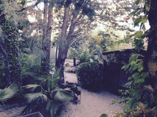 La Magnanerie de Grans : jardin arboisé