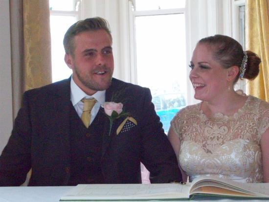 BEST WESTERN Hotel Bristol: We had the best day and night at Hotel Bristol for our wedding ❤️
