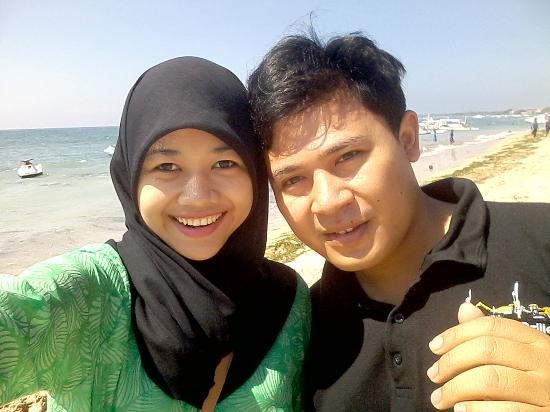 Nusa Dua, Indonesia: Me with My Husband