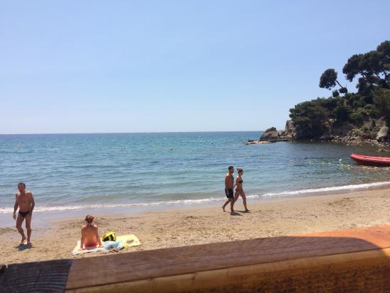Un cadre paradisiaque sur la plage des bonnettes picture of l 39 escale des bonnettes le pradet - Image de plage paradisiaque ...