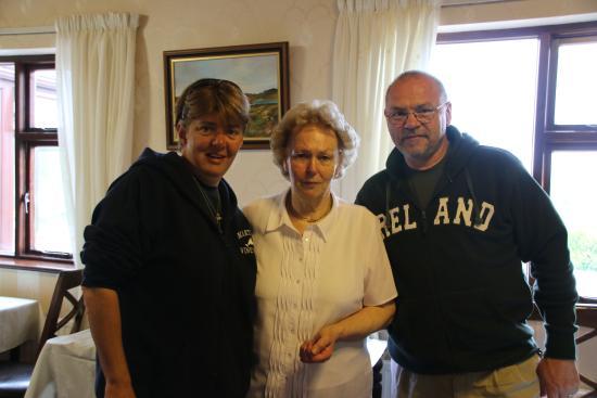 Glencairn House: Us with Maureen