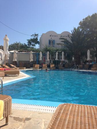 Hotel Matina : Hotel and pool area
