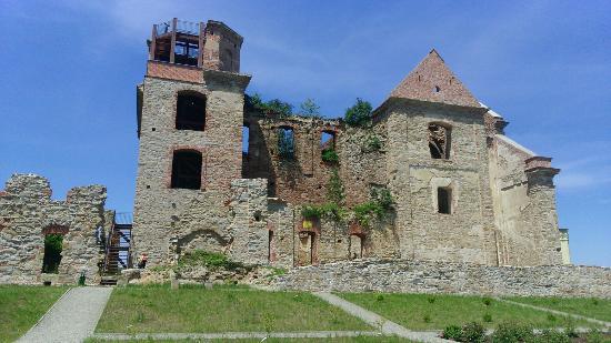 Ruiny Warownego Klasztoru Karmelitow Bosych