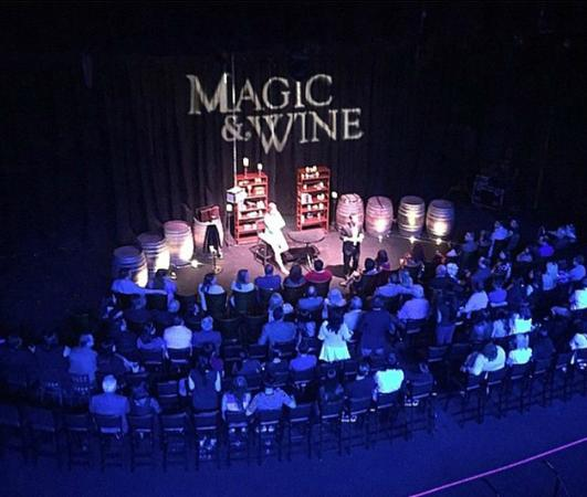 ‪Magic and Wine Theater With David Minkin‬