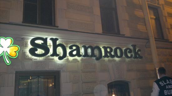 Shamrock Irish Bar: shemrock