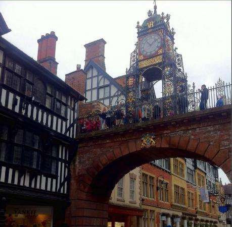 The famous Clock in Chester City