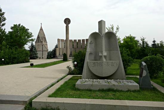 Yerablur Military Cemetery, Yerevan, Armenia