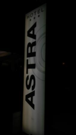 Hotel Astra : insegna