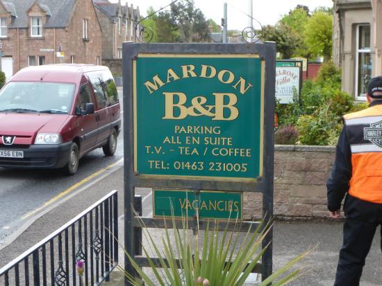 Mardon Guest House: Entrance
