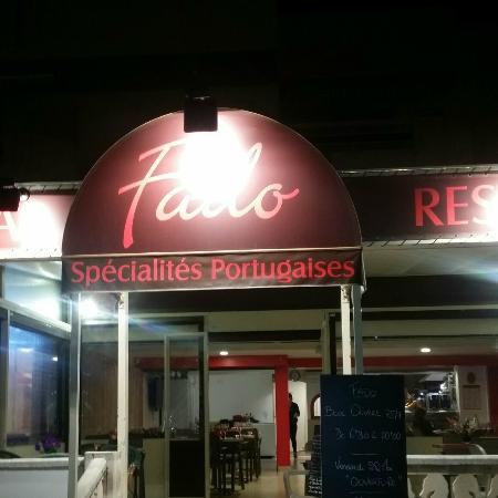 Cavalaire-Sur-Mer, Fransa: le restaurant vue mer