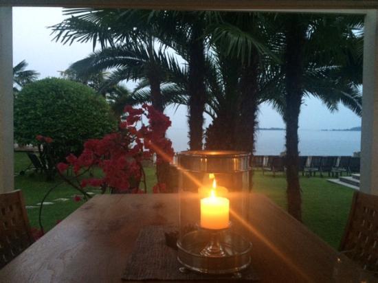 Hotel Villa Capri: Abends relaxen