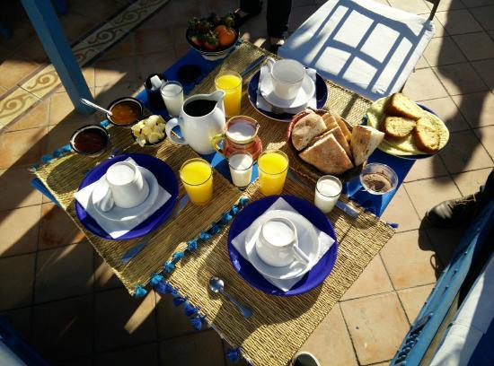 La Maison Du Vent : Petit déjeuner