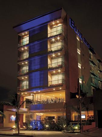 Blue Suites Hotel: la fachada principal