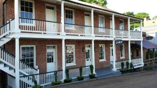 The Camp Restaurant Under Hill Natchez Ms May 2017