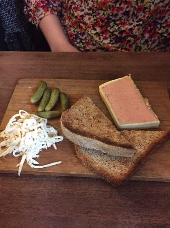 The Feathers Inn: Pate starter!