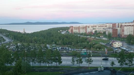 Bratsk Hotel: Вид из окна гостиницы Братск