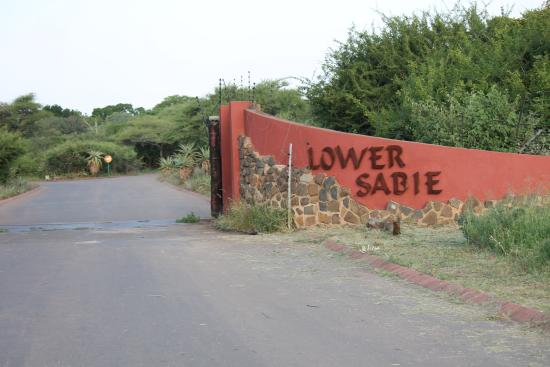 Lower Sabie Restcamp: Ingresso