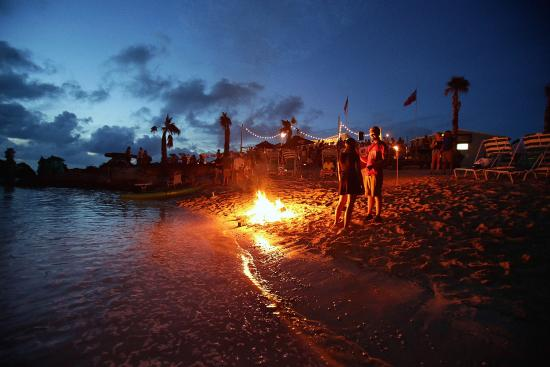 Bonfire goodness, every weekend at Tobacco Bay