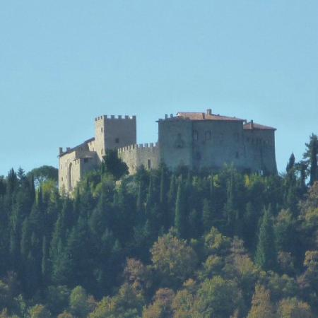 Castello di Montegiove: View from afar