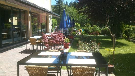 Martelange, Belgia: la terrasse