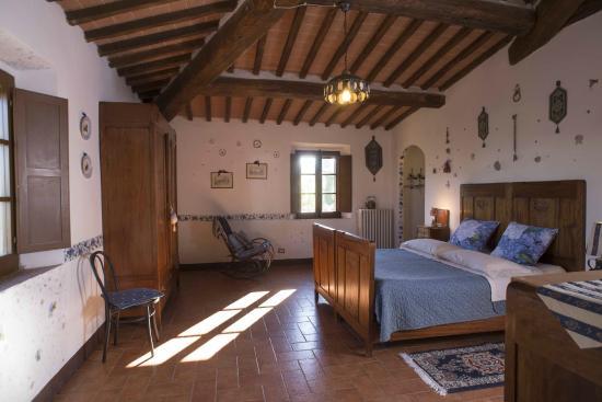 Aia Vecchia di Montalceto : Camera Blu appartamento Costanza