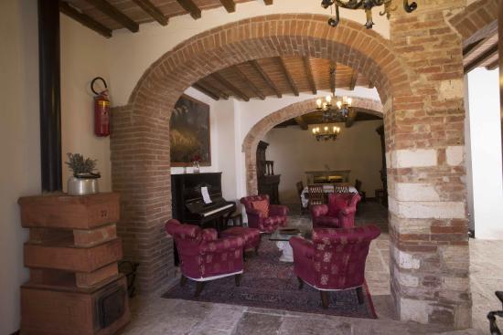 Aia Vecchia di Montalceto : interno sale hobby