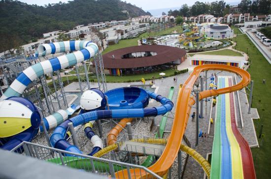 Rixos Premium Tekirova: The Aqua park.