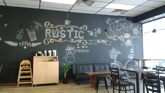 Rustic Bubble Tea Cafe