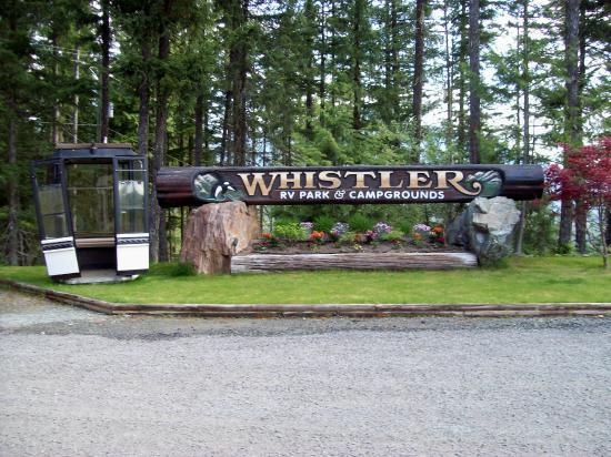 Whistler RV Park Scenic Views