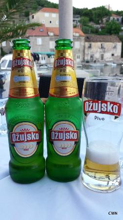 a cool beer to start picture of stara mlinica sipan tripadvisor