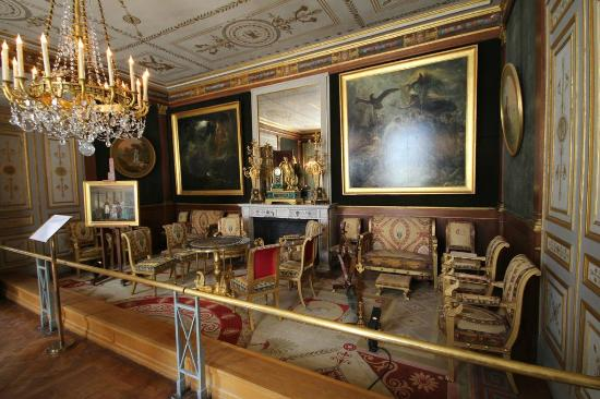 salon dor picture of chateau de malmaison rueil. Black Bedroom Furniture Sets. Home Design Ideas