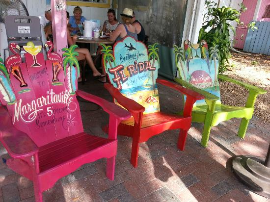 Chairs To Relax In Outside The Island Cow
