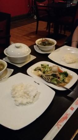 Thai Silk Southwark: Thai green curry