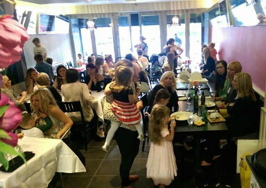 The Primrose Eatery: Busy busy