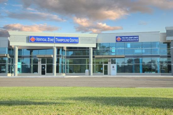 Barrie, Canada: The outside of our facility