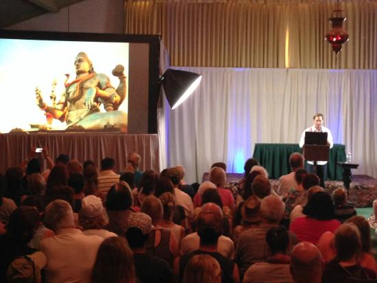 Joshua Tree Retreat Center at the Institute of Mentalphysics : Speaker in Noble Hall (Contact in the Desert Conference - May 2015)