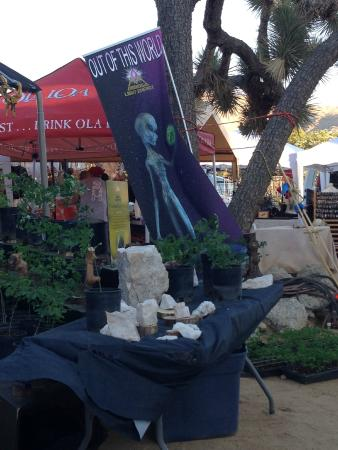 Joshua Tree Retreat Center at the Institute of Mentalphysics : Vendor area (Contact in the Desert Conference - May 2015)