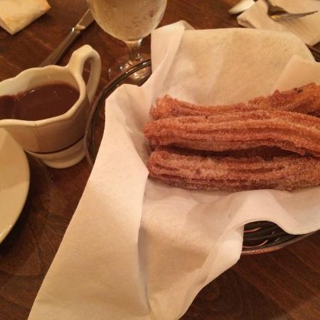 Andalusia : Churros with Chocolate sauce