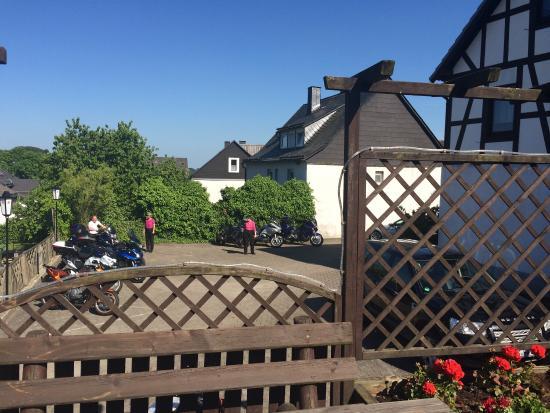 Landhotel Haus zur Sonne Hallenberg Duitsland foto s