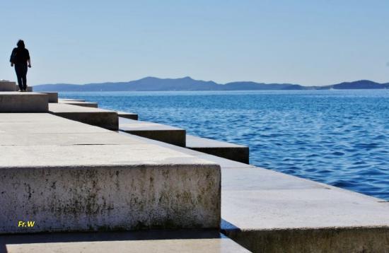 Morske Orgulje (Sea Organ): De trap met het waterorgel .