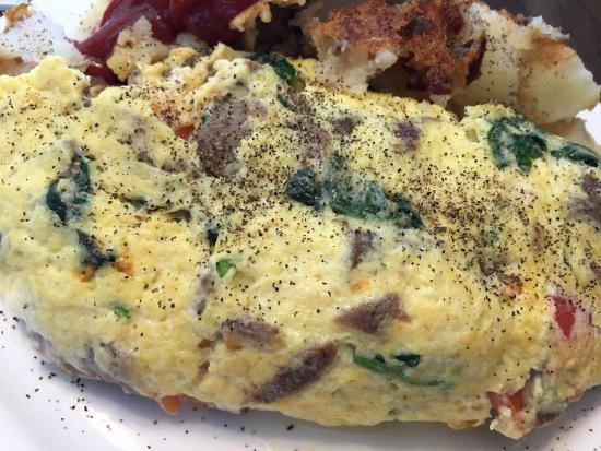 The Diner: Greek omelette - Fantastic.